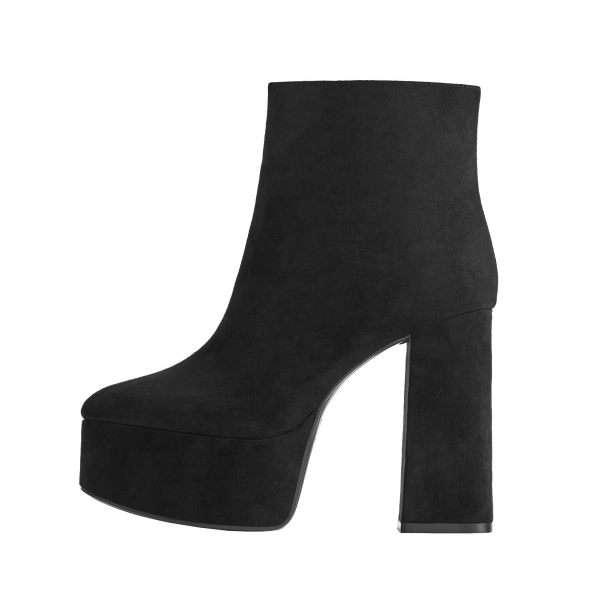 لیست قیمت 30 مدل کفش نیم بوت دخترانه پاشنه دار شیک + خرید